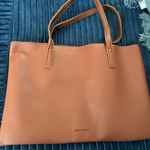 Vince Camuto Red Desert Tote Bag